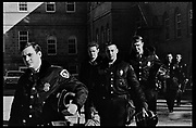 Madison, WI - March 1970. On March 15, 1970, the University of Wisconsin - Madison Teaching Assistants' Association voted to strike, and the campus was filled with picket lines as well as demonstrations of related and other issues. The strike lasted until early April, when the Association and University came to an agreement. Police in riot gear on campus.