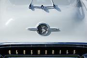 1955 Oldsmobile 88 at 2015 WAAAM Traffic Jam.