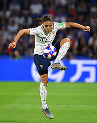 France's Amel Majri during FIFA Women's World Cup France group A match France v Brazil on June 23, 2019 in Le Havre, France. France won 2-1 after extra time reaching quarter-finals. Photo by Christian Liewig/ABACAPRESS.COM