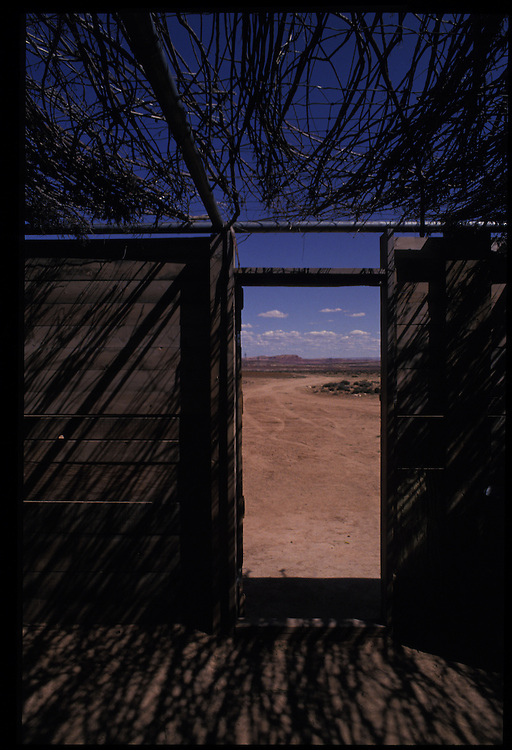 Sheep Camp.  Bodaway, Arizona.