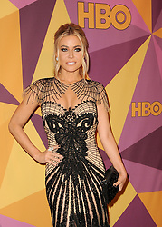 Carmen Electra at the HBO's 2018 Official Golden Globe Awards After Party held at the Circa 55 Restaurant in Beverly Hills, USA on January 7, 2018. (Photo by Lumeimages/Sipa USA)