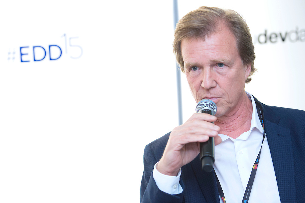 03 June 2015 - Belgium - Brussels - European Development Days - EDD - Growth - Fighting poverty through innovative business models - Oliver Griffith<br /> Head of Communications and Public Affairs, West Europe, International Finance Corporation (IFC) © European Union