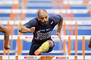 Garfield Darien competes in men 110m hurdles during the European Championships 2018, at Olympic Stadium in Berlin, Germany, Day 3, on August 9, 2018 - Photo Philippe Millereau / KMSP / ProSportsImages / DPPI