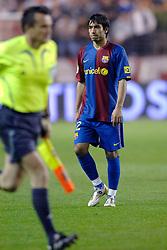 03-03-2007 VOETBAL: SEVILLA FC - BARCELONA: SEVILLA  <br /> Sevilla wint de topper met Barcelona met 2-1 / Giovanni van Bronckhorst<br /> ©2006-WWW.FOTOHOOGENDOORN.NL