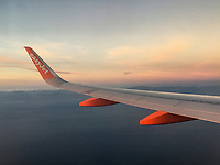 Easyjet A300 Series aircraft en route Belfast-Malaga, March, 2019, 201903043149.<br /><br />Copyright Image from Victor Patterson, 54 Dorchester Park, <br />Belfast, UK, BT9 6RJ<br /><br />t1: +44 28 9066 1296 (from Rep of Ireland 048 9066 1296)<br />m: +44 7802 353836<br />e: victorpattersonbelfast@gmail.com<br />w: www,victorpatterson.com<br /><br />Please see my Terms and Conditions of Use at https://www.victorpatterson.com/page2<br />It is IMPORTANT that you familiarise yourself with them.<br /><br />Images used on the Internet incur an additional cost and must be visibly watermarked i.e. © Victor Patterson within the body of the image and copyright metadata must not be deleted. Images used on the Internet have a size restriction of 4kbs and are chargeable at rates available at victorpatterson.com.<br /><br />This image is only available for the use of the download recipient i.e. television station, newspaper, magazine, book publisher, etc, and must not be passed on to any third party. It is also downloaded on condition that each and every usage is notified within 7 days to victorpattersonbelfast@gmail.com.<br /><br />The right of Victor Patterson to be identified as the author is asserted in accordance with The Copyright Designs And Patents Act (1988). All moral rights are asserted.
