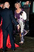 Nederland bedankt Beatrix in Ahoy ,Rotterdam. Nederlanders brengen een muzikale ode als dank voor 33 jaar koningschap.<br /> <br /> The Netherlands thanks Beatrix in Ahoy, Rotterdam. Dutch pay a musical tribute of thanks for 33 years of reign.<br /> <br /> Op de foto / On the photo: <br />   Princess Margriet and Pieter van Vollenhoven and Princess Irene