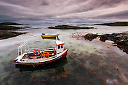 Isle Of Barra, Lobster Boats, Outer Hebrides, Scotland