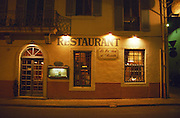 The restaurant Le Bouchon et l'Assiette in Nimes, Nimes, Gard, Provence, France, Europe