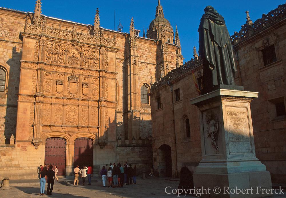 SPAIN, CASTILE, SALAMANCA University; Patio de las Escuelas