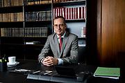 Marc Tully am Oberlandesgericht, Hamburg, Deutschland, 10. August 2021