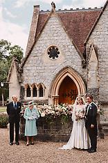 Official Wedding Photograph of Princess Beatrice and Edoardo Mapelli Mozzi - 17 July 2020