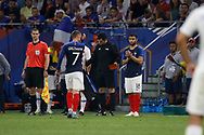 Antoine Griezmann of France out and Nabil Fekir of France in during the 2018 Friendly Game football match between France and USA on June 9, 2018 at Groupama stadium in Decines-Charpieu near Lyon, France - Photo Romain Biard / Isports / ProSportsImages / DPPI