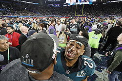 February 4, 2018 - Minneapolis, MN, USA - The Philadelphia Eagles celebrate winning Super Bowl LII on Sunday, Feb. 4, 2018, in Minneapolis, Minn. (Credit Image: © Carlos Gonzalez/TNS via ZUMA Wire)