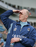 Photo: Lee Earle.<br /> Coventry City v Barnsley. Coca Cola Championship. 17/03/2007.Coventry manager Iain Dowie.