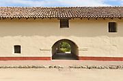Building Detail at La Purisima Mission