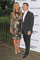 LONDON - JUNE 26: Holly Valance; Nick Candy attended the Serpentine Gallery summer party, Kensington Gardens, London, UK. June 26, 2012. (Photo by Richard Goldschmidt)