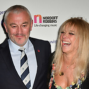 Jo Wood attends Rugby legend DANNY CARE is to be honoured at the 24th annual Legends of Rugby Dinner 2019 in Aid of Nordoff Robbins on WEDNESDAY 16TH JANUARY 2019 at JW Marriott Grosvenor House, London, UK.