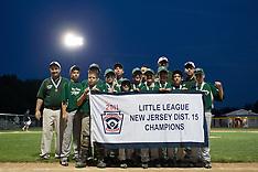 District 15 Little League Final - West Deptford v. Woodbury