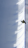 Snowboard<br /> FIS VM 2009<br /> Gangwon Korea<br /> 22.01.2009<br /> Foto: Gepa/Digitalsport<br /> NORWAY ONLY<br /> <br /> Halfpipe, Herren, Qualifikation. Bild zeigt Tore Holvik (NOR)
