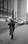 U2  - Adam Clayton - USA tour photosessions in Chicago - December 1981