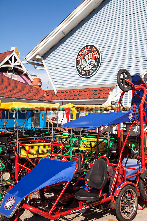 Wheel Fun Rentals At Shoreline Village Long Beach