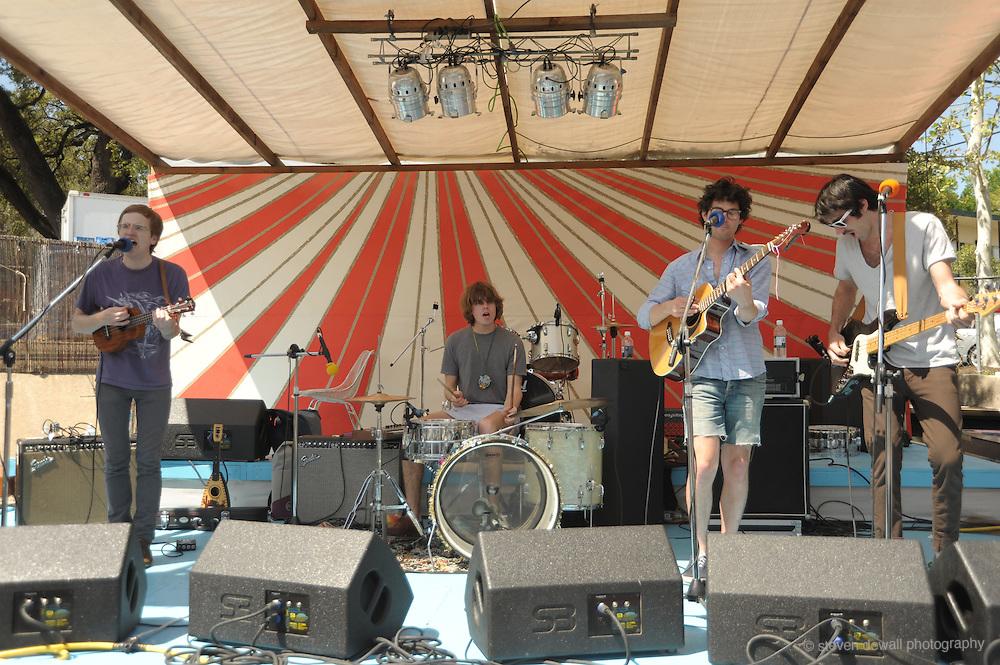 Dent Mae performs at The San Jose Motel @ the SXSW Music Festival, Austin, Texas