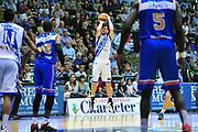 DESCRIZIONE : Sassari Lega A 2013-14 Dinamo Sassari - Enel Brindisi<br /> GIOCATORE : Drake Diener<br /> CATEGORIA : Tiro<br /> SQUADRA : Dinamo Sassari<br /> EVENTO : Campionato Lega A 2013-2014 <br /> GARA : Dinamo Sassari - Enel Brindisi<br /> DATA : 11/05/2014<br /> SPORT : Pallacanestro <br /> AUTORE : Agenzia Ciamillo-Castoria/M.Turrini<br /> Galleria : Lega Basket A 2013-2014  <br /> Fotonotizia : Sassari Lega A 2013-14 Dinamo Sassari - Enel Brindisi<br /> Predefinita :