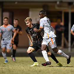 BRISBANE, AUSTRALIA - OCTOBER 3:  during the NPL Queensland Senior Mens Round 17 match between Eastern Suburbs FC and Brisbane Roar FC at Heath Park on October 3, 2020 in Brisbane, Australia. (Photo by Patrick Kearney)