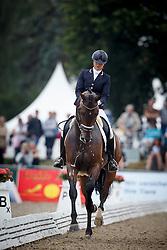 Scholtens Emmelie, (NED), Fenix<br /> Small Final 5 years old horses<br /> World Championship Young Dressage Horses - Verden 2015<br /> © Hippo Foto - Dirk Caremans<br /> 07/08/15