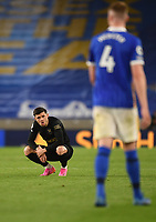 Football - 2020 / 2021 Premier League - Brighjton & Hove Albion vs West Hame United - Amex Stadium<br /> <br /> West Ham United's Aaron Cresswell dejected at the final whistle.<br /> <br /> COLORSPORT