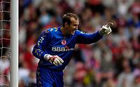 Photo: Jed Wee.<br /> Middlesbrough v Newcastle United. The Barclays Premiership. 22/10/2006.<br /> <br /> Middlesbrough goalkeeper Mark Schwarzer.