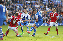 Peterborough United's Conor Washington scores the equalising goal - Photo mandatory by-line: Joe Dent/JMP - Mobile: 07966 386802 - 18/10/2014 - SPORT - Football - Peterborough - London Road Stadium - Peterborough United v Barnsley - Sky Bet League One