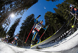 FERRY Bjoern of Sweden competes during Men 12.5 km Mass Start competition of the e.on IBU Biathlon World Cup on Sunday, March 9, 2014 in Pokljuka, Slovenia. Photo by Vid Ponikvar / Sportida