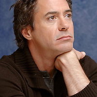 """NO TABLOIDS,  No U.S. Tabloids<br />Robert Downey Jr.<br />""""Zodiac"""" Press Conference with Robert Downey Jr. and Mark Ruffalo<br />W Hotel<br />Westwood, California United States<br />February 12, 2007<br />Photo by Vera Anderson/WireImage.com<br /><br />To license this image (12782076), contact WireImage.com"""