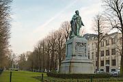 Statue of Jan August Hendrik Leys (18 February 1815 – 26 August 1869) Antwerp, Belgium
