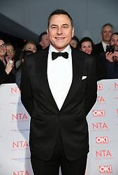 David Walliams attending the National Television Awards 2018 held at the O2, London. Photo credit should read: Doug Peters/EMPICS Entertainment