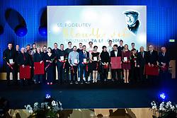 Award winners at 55th Annual Awards of Stanko Bloudek for sports achievements in Slovenia in year 2018 on February 4, 2020 in Brdo Congress Center, Kranj , Slovenia. Photo by Grega Valancic / Sportida