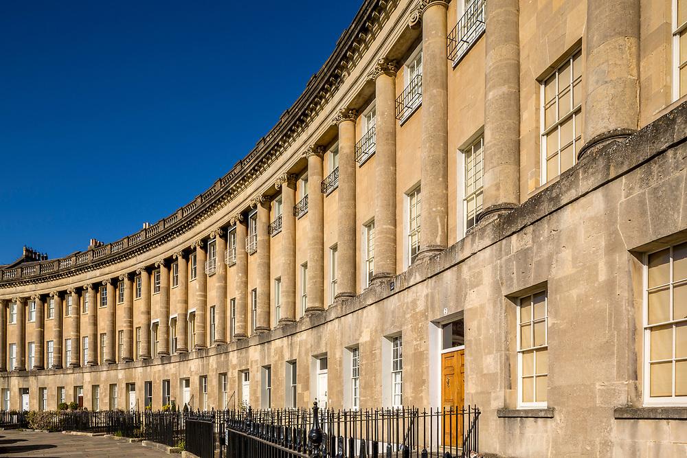 The Royal Crescent, City of Bath, UK
