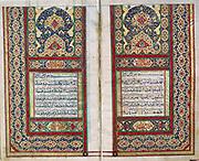 Koran. North Indian manuscript, 1838. Private collection.
