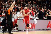 DESCRIZIONE : Milano Euroleague 2015-16 EA7 Emporio Armani Milano - Olympiacos Piraeus<br /> GIOCATORE : Alessandro Gentile<br /> CATEGORIA : esultanza composizione<br /> SQUADRA : EA7 Emporio Armani Milano<br /> EVENTO : Euroleague 2015-2016<br /> GARA : EA7 Emporio Armani Milano - Olympiacos Piraeus<br /> DATA : 30/10/2015<br /> SPORT : Pallacanestro<br /> AUTORE : Agenzia Ciamillo-Castoria/Max.Ceretti<br /> Galleria : Euroleague 2015-2016 <br /> Fotonotizia: Milano Euroleague 2015-16 EA7 Emporio Armani Milano - Olympiacos Piraeus