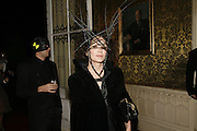 Annabel Neilson, The Moet and Chandon Fashion Tribute 2006 Honouring British Photographer Nick Knight. Strawberry Hill House. Twickenham. 24 October 2006. -DO NOT ARCHIVE-© Copyright Photograph by Dafydd Jones 66 Stockwell Park Rd. London SW9 0DA Tel 020 7733 0108 www.dafjones.com