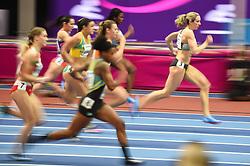 March 2, 2018 - Birmingham, England, United Kingdom - Cindy Roleder ofGermany at 60 meter hurdles at World indoor Athletics Championship 2018, Birmingham, England on March 2, 2018. (Credit Image: © Ulrik Pedersen/NurPhoto via ZUMA Press)