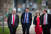 LABOUR LEADERSHIP CANDIDATE VISITS ABERDEEN TO SPEAK TO PERTY MEMBERS ..  PIC OF ANDY BURNHAM ARRIVING IN TILLYDRONE AREA WHERE HE WAS SPEAKING  IN ST GEORGES CHURCH HALL.<br /> PIC DEREK IRONSIDE / NEWSLINE MEDIA