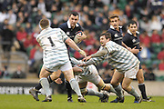 Twickenham. GREAT BRITAIN, Joe ROFF going for the gap, during the 2006 Varsity Rugby Match at Twickenham Stadium, England 12.12.2006. [Photo, Peter Spurrier/Intersport-images] Sponsor, Lehman Brothers,