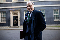 © Licensed to London News Pictures. 01/12/2020. London, UK. Secretary of State for Defence Ben Wallace on Downing Street for the cabinet meeting. MPs will later vote on a new set of tiered restrictions to replace the national lockdown after 2 December. Photo credit: Rob Pinney/LNP