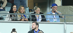 EXCLUSIVE: Love Island's Natasha Webster is seen watching the Western Force v Hong Kong Dragons (World Series Rugby) with 2017 Australian Survivor contestant Luke Toki at Nib Stadium in Perth. 10 Aug 2018 Pictured: Natasha Webster her friend, Luke Toki and his wife Mary. Photo credit: FM/MEGA TheMegaAgency.com +1 888 505 6342