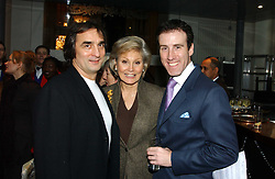 Left to right, dancer IREK MUKHAMEDOV, ANGELLA RIPPON and choreographer ANTON DU BEKE  at The Critic's Circle National Dance Awards 2005 held at The Royal Opera House, Covent Garden on 19th January 2006.<br /><br />NON EXCLUSIVE - WORLD RIGHTS