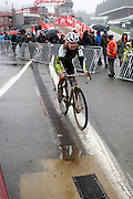 Belgium, Sunday 13th December 2015: Images from the elite men's and women's races at the Hansgrohe Superprestige cyclocross races at Spa Francorchamps.<br /> <br /> Copyright 2015 Peter Horrell