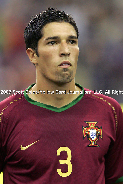 08 July 2007: Portugal's Steven Vitoria, pregame. Gambia's Under-20 Men's National Team defeated Portugal's Under-20 Men's National Team 2-1 in a Group C opening round match at Olympic Stadium in Montreal, Quebec, Canada during the FIFA U-20 World Cup Canada 2007 tournament.