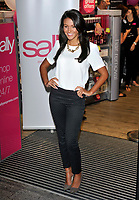 Michelle Keegan opening the Sally Salon Services new flagship store at New Oxford Street, London